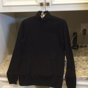 Talbot's Black Mock Turtle Sweater